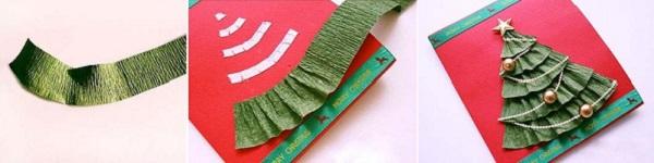 Cách làm thiệp hoa ruy-băng đơn giản mà đẹp 9