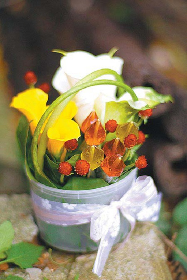 Mách bạn cách cắm hoa đẹp mà dễ dàng 6