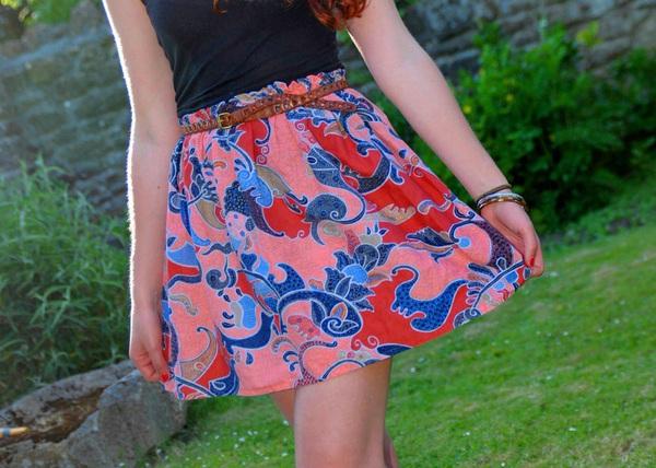 Tự may váy ngắn đơn giản mà xinh yêu 7