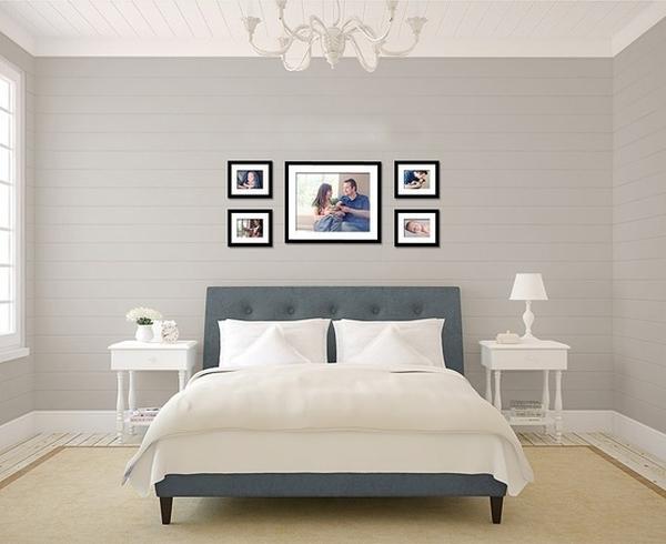 Giúp nhà thêm đẹp và gọn với 6 kiểu sắp xếp khung ảnh  3