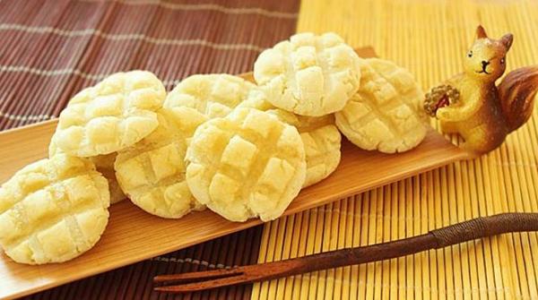 Cách làm bánh quy không béo từ khoai lang! 1