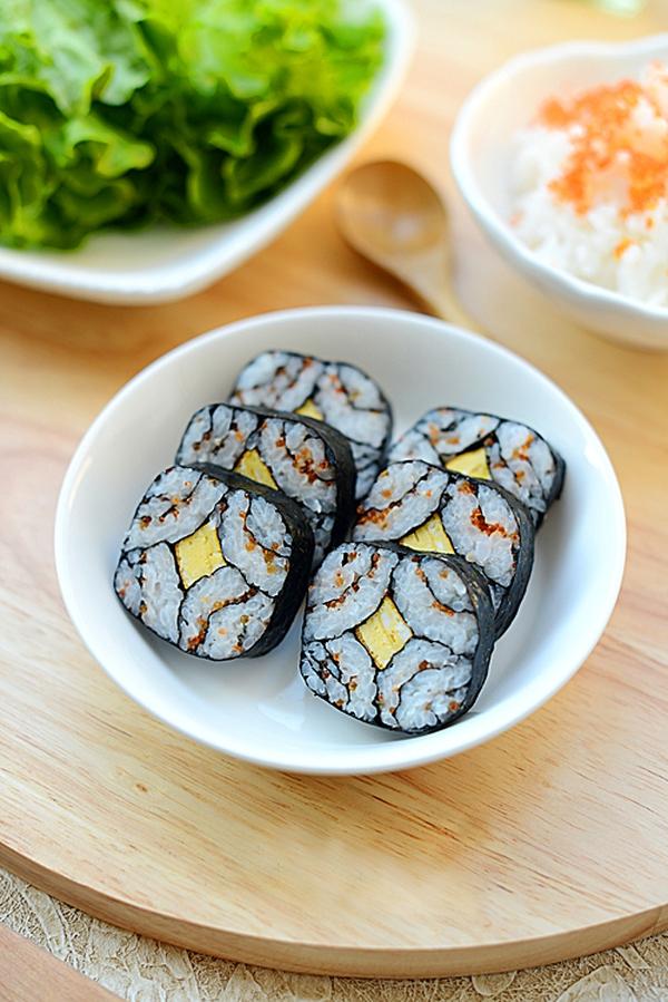 Cách làm sushi độc đáo, đẹp mắt 1