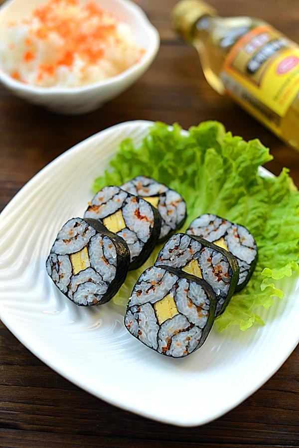 Cách làm sushi độc đáo, đẹp mắt 8