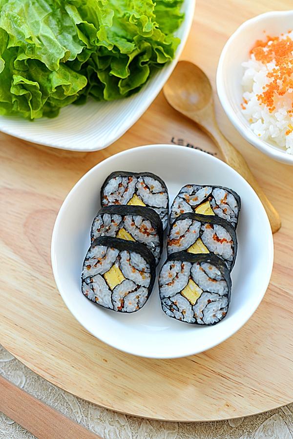 Cách làm sushi độc đáo, đẹp mắt 9