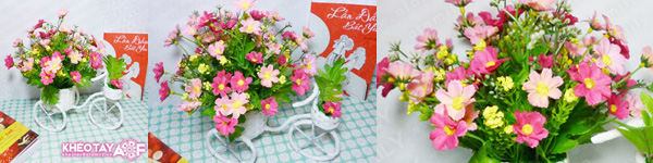 Mách bạn cách cắm hoa đẹp và độc đáo cho bàn tiệc 8