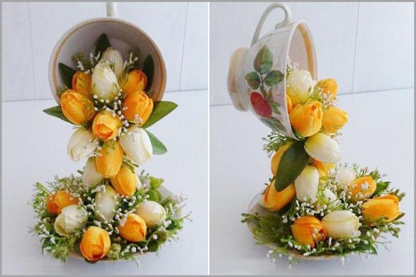 Mách bạn cách cắm hoa đẹp và độc đáo cho bàn tiệc 1