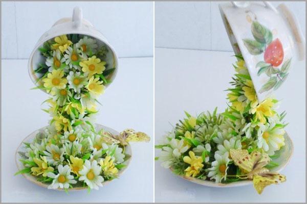 Mách bạn cách cắm hoa đẹp và độc đáo cho bàn tiệc 6