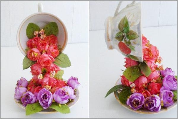 Mách bạn cách cắm hoa đẹp và độc đáo cho bàn tiệc 7