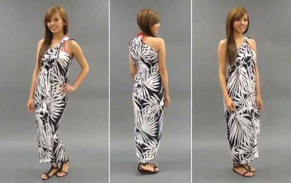 Độc đáo 3 cách quấn khăn thành váy đi biển tuyệt đẹp 25