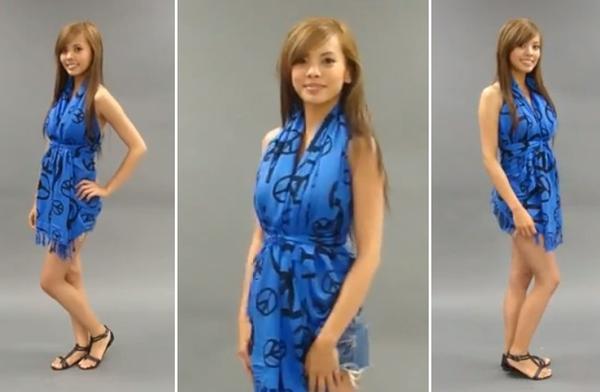 Độc đáo 3 cách quấn khăn thành váy đi biển tuyệt đẹp 26