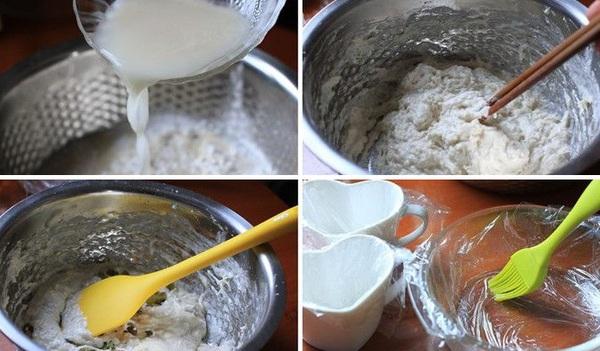 Làm bánh bao chay kiểu mới ăn sáng thật ngon 7
