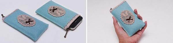 Tự may túi đựng điện thoại tiện ích thật dễ dàng 16
