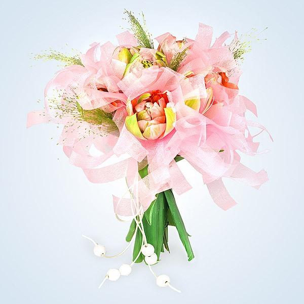 Cách bó hoa đẹp và dễ dàng cùng giấy gói hoa cách điệu 15