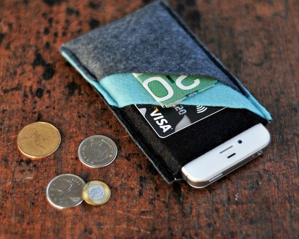 Tự may túi đựng điện thoại tiện ích thật dễ dàng 13