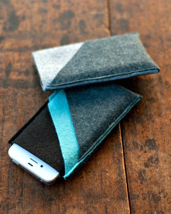 Tự may túi đựng điện thoại tiện ích thật dễ dàng 14