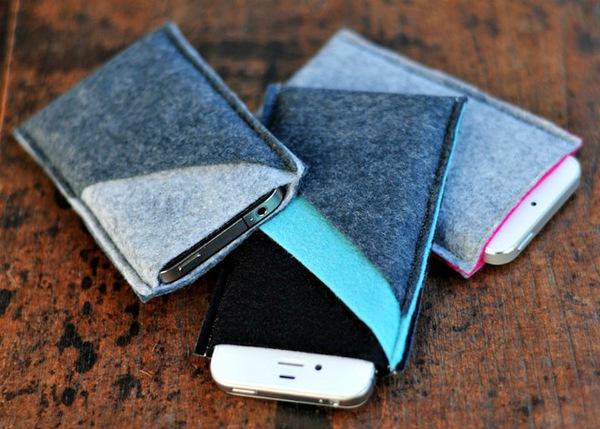 Tự may túi đựng điện thoại tiện ích thật dễ dàng 15