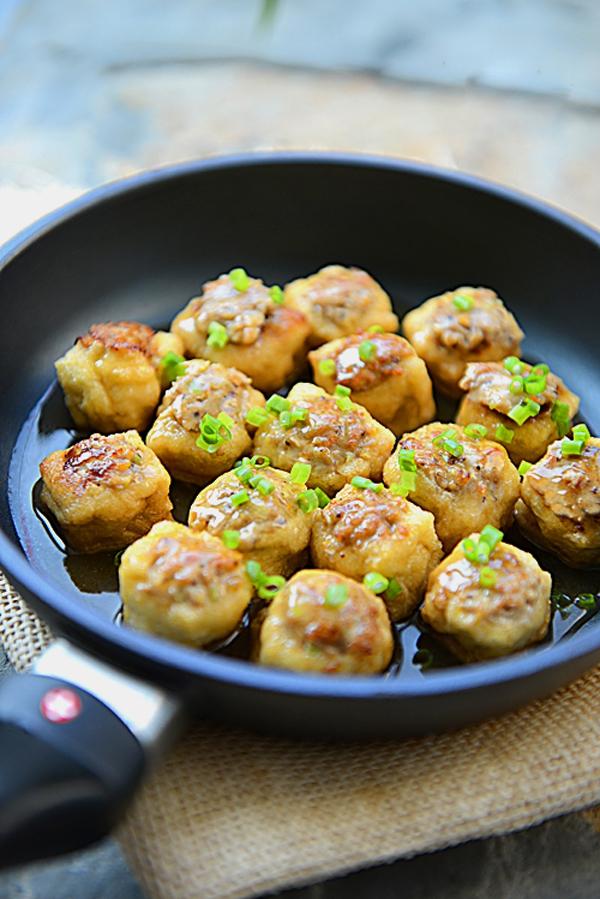 Biến tấu mới cho món đậu phụ nhồi thịt cực ngon 1