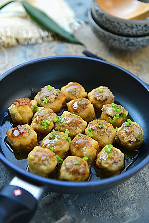 Biến tấu mới cho món đậu phụ nhồi thịt cực ngon 13