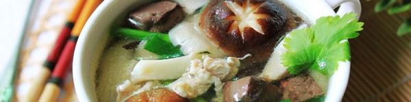 Canh thịt nấu nấm ngọt thơm mát lành 15