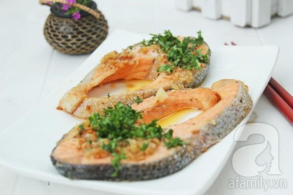 Cách làm cá nướng bằng chảo cực thơm ngon 10