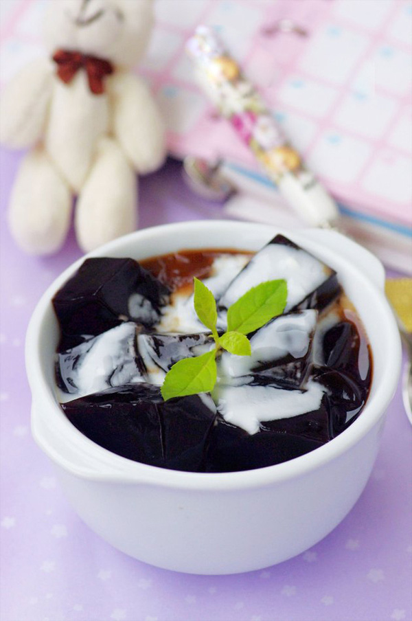 Sương sáo cốt dừa mát lạnh thơm ngon 1
