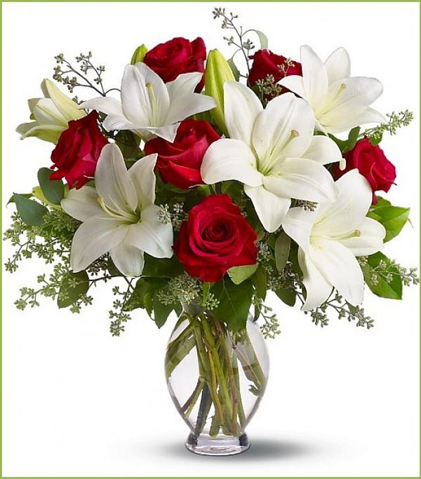 Hướng dẫn 5 cách cắm hoa ly để bàn tuyệt đẹp 1