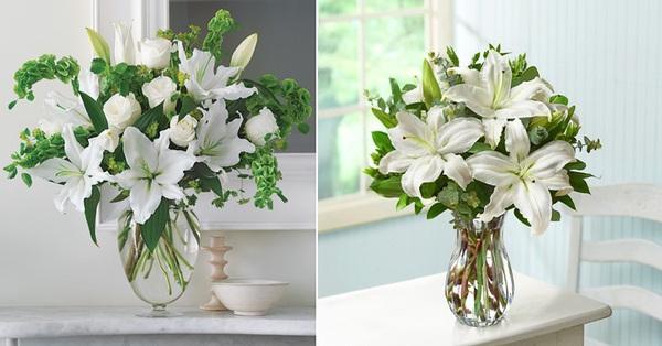 Hướng dẫn 5 cách cắm hoa ly để bàn tuyệt đẹp 2