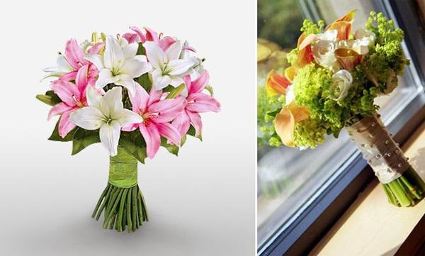 Hướng dẫn 5 cách cắm hoa ly để bàn tuyệt đẹp 5