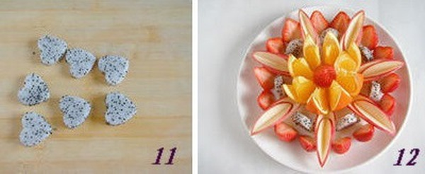 Hướng dẫn cách bày hoa quả sinh động và hấp dẫn 13