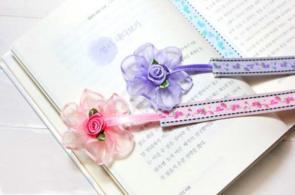 Tự chế bookmark hoa xinh yêu bắt mắt 17