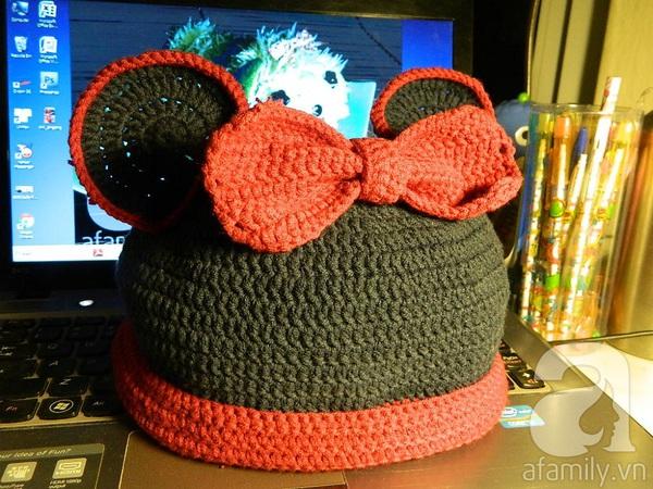 Hướng dẫn móc mũ len đơn giản mà dễ thương 14
