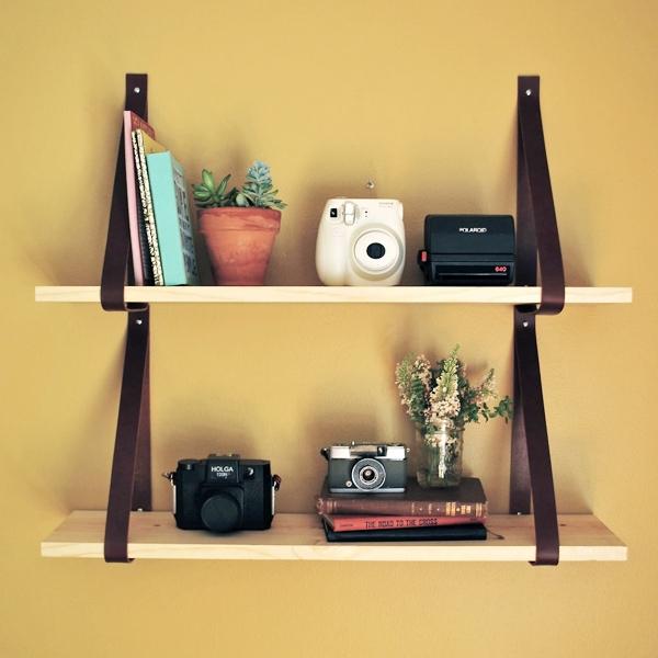 Tự làm kệ treo tường đơn giản nhiều tiện ích 12