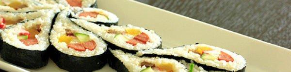 Ăn trưa ngon với món cơm cuộn siêu đẹp mắt 14