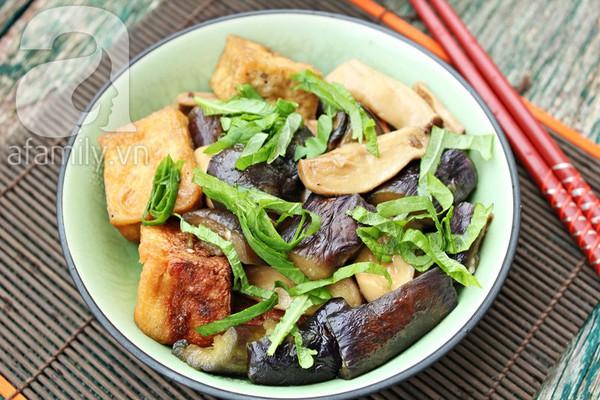 Đầu tháng, ăn chay ngon với đậu phụ kho cà tím 16