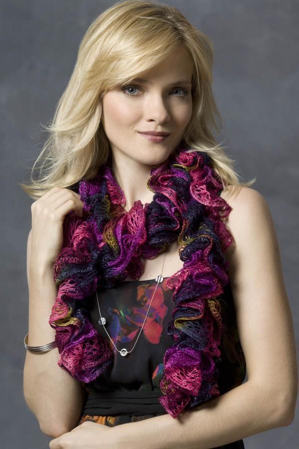 Hướng dẫn móc khăn len siêu tốc mà đẹp mắt 17