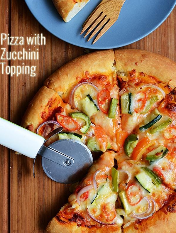 Trổ tài tự làm pizza rau củ thơm ngon ít béo 1