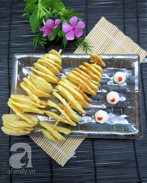 Cách làm khoai tây lốc xoáy giòn ngon đúng điệu 14