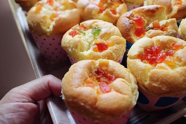 Bánh cupcake trái cây xốp mềm thơm phức 1