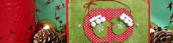 Cách làm thiệp Noel kiêm phong thư tuyệt đẹp 16