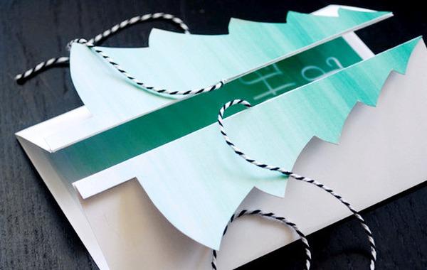Cách làm thiệp Noel kiêm phong thư tuyệt đẹp 14