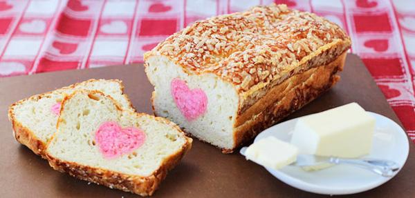 Khéo tay làm bánh mì nhân hình trái tim siêu xinh 18