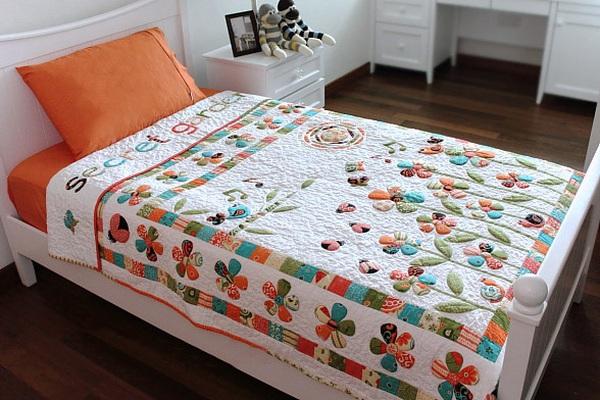 Cách chần bông dễ dàng làm đồ quilt thêm nổi bật 16