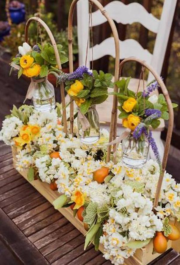 Cắm hoa đẹp và lạ mắt theo phong cách đồng nội 1