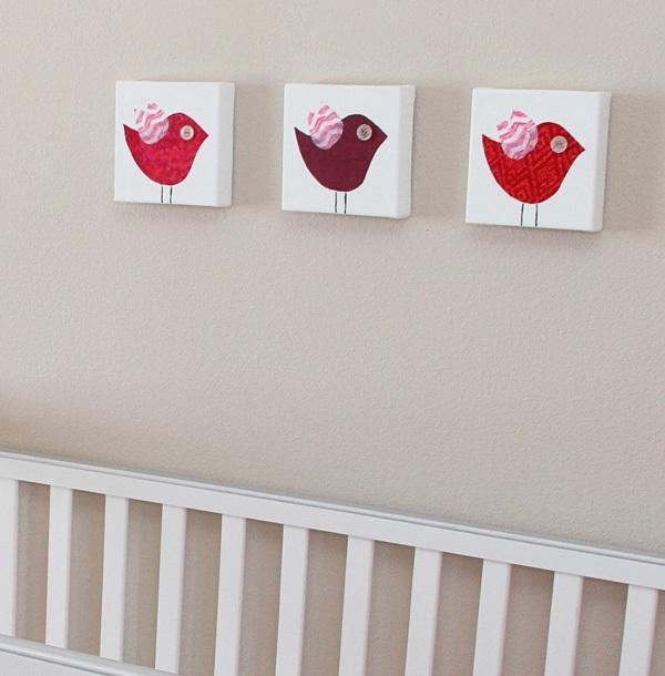 Tự chế bộ tranh trang trí phòng bé đơn giản mà đẹp 1