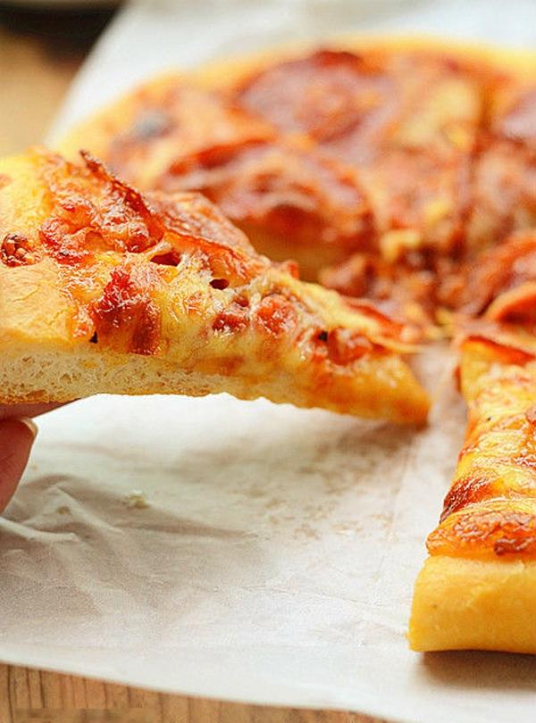 Pizza xúc xích làm đơn giản mà ăn cực ngon! 20