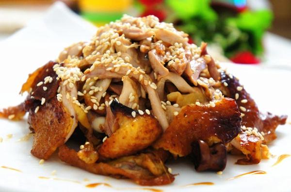 Dùng nồi cơm điện làm món gà nướng cực ngon 15