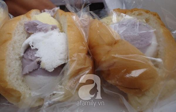 """Sài Gòn: Mua """"vé về tuổi thơ"""" với bánh mì kẹp kem siêu rẻ 3"""