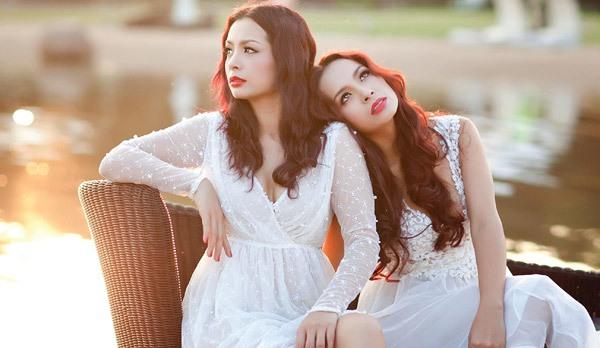 Những cặp chị em xinh đẹp nổi tiếng của showbiz Việt 20