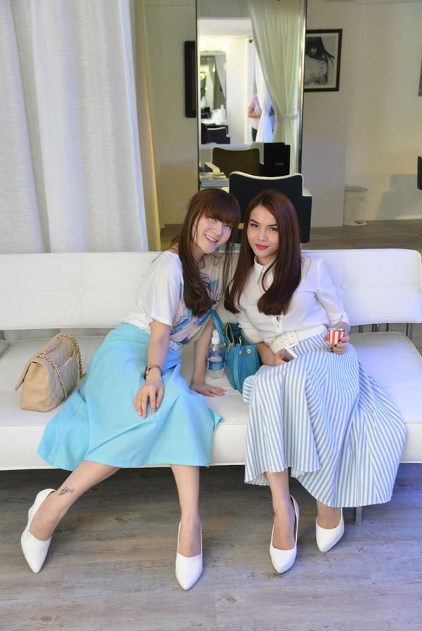 Những cặp chị em xinh đẹp nổi tiếng của showbiz Việt 16