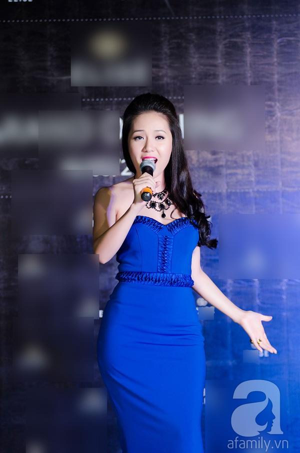 Hoa hậu Ngọc Hân xinh đẹp lạnh lùng 7